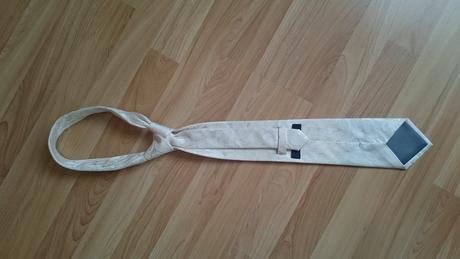 Hodvábna svadobná kravata Jean Chatel,