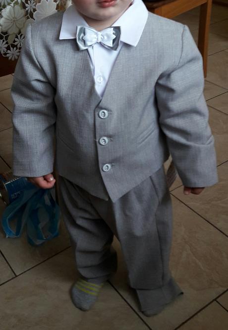 Detský oblek na svadbu, 92