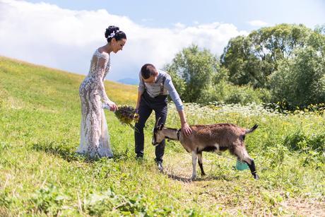 svadobné šaty - francúzska čipka, 38