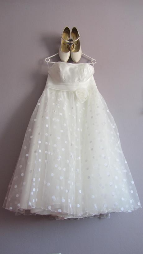 Svatební šaty krátké  - velikost, 40