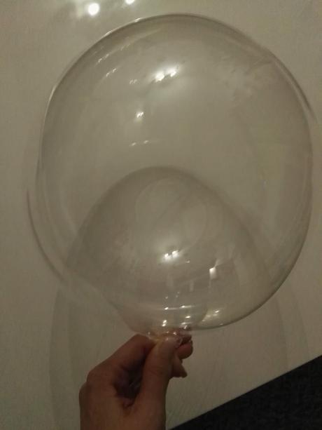 Průhledné balonky,