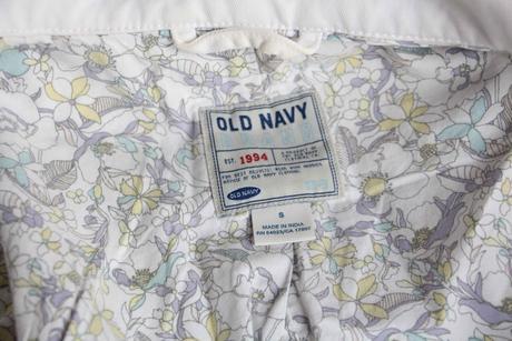 bílé sako na knoflíky, zn. Old Navy, S