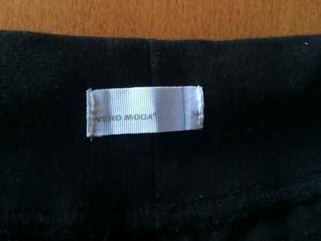 černé 3/4 kalhoty,  Vero Moda, 34