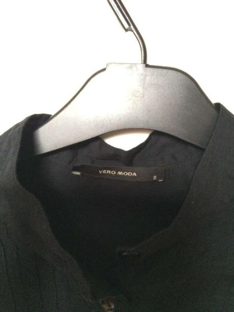Dámská černá dlouhá košile - Vero Moda, S