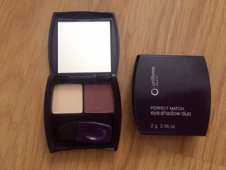 Duo oční stíny Oriflame Beauty Perfect Match ,