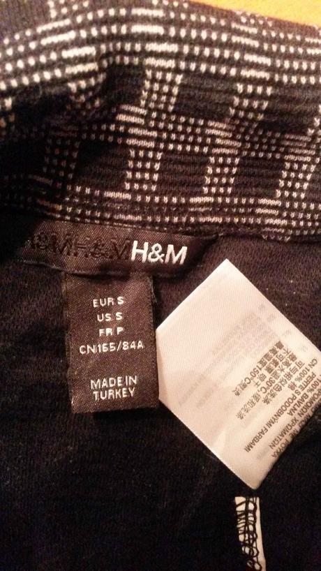 sako na knoflíky H&M, S