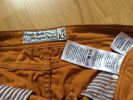 Sukně zrzavé - měděné barvy, zn. Fresh Made, XS