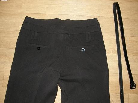 Elegantné nohavice s opaskom - Takko, 38