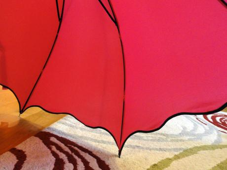 svatební deštník,