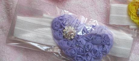 Srdiečková - fialová čelenka, nepoužívaná,