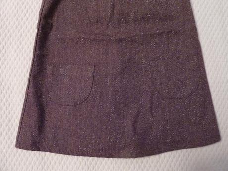 Trblietavé šaty s ružičkou, super stav, 80