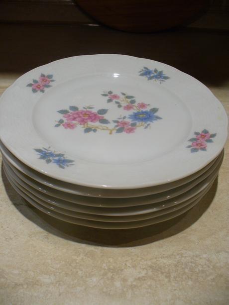 Dezertné tanieriky. ,