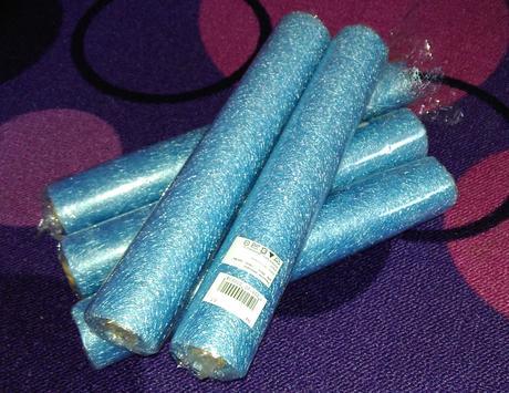 Pavučinka - světlé modrá,