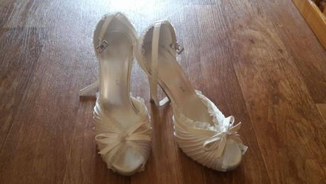 Svatební střevíčky na podpatku, 37