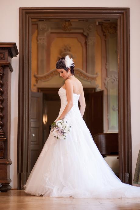 Luxusné svadobné šaty-Pronovias, 36