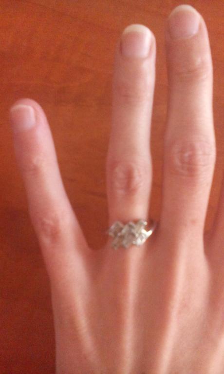 strieborny prsten 925,
