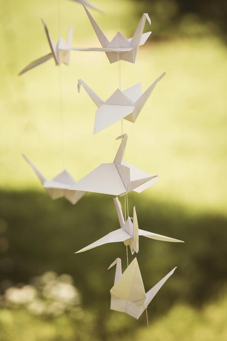 Origami ptáčci,