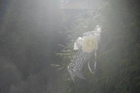 mašle s ružami na výzdobu,