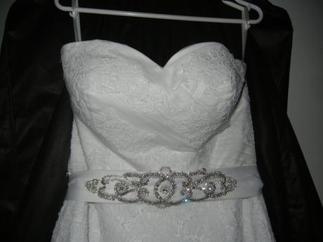 Svatební šaty vel. 40-44, 40