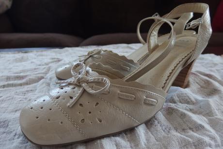 Svatební obuv na podpatku, 39