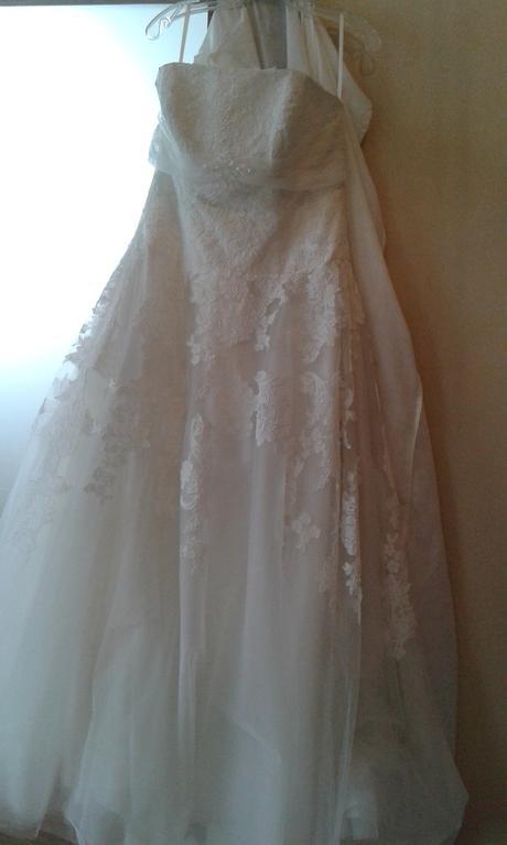 Korzetové svatební šaty light ivory vel. 38-42, 40
