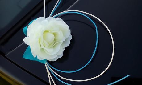 Dekorácia svadobného auta,