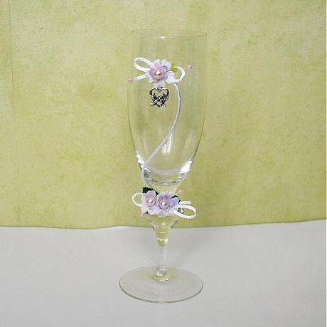 Ozdoba na svadobné poháre ,