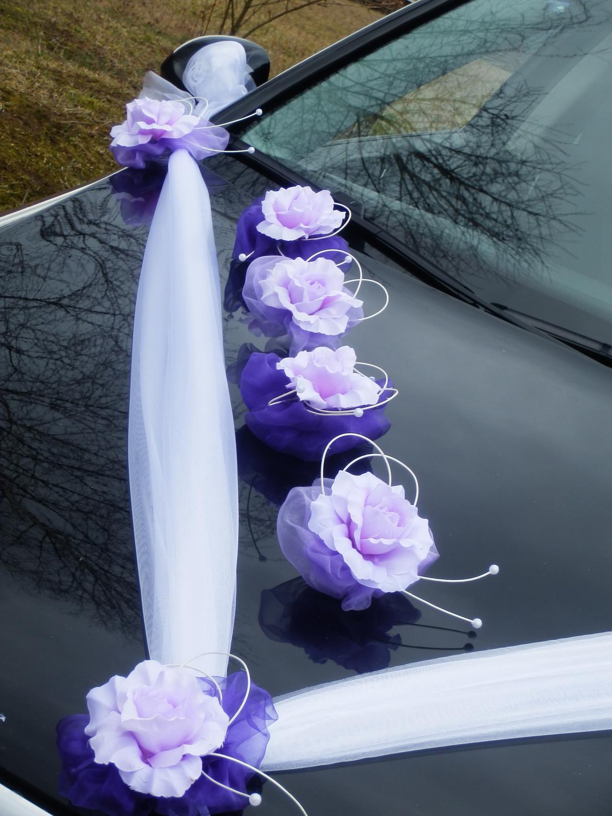 Svatebni Dekorace Vyzdoba Na Auto Ruze S Prisavkou 59 Kc
