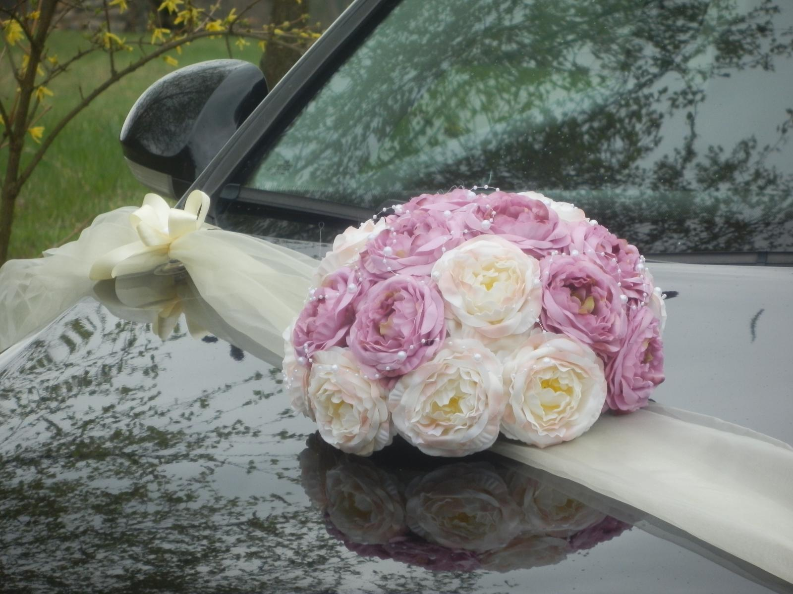 Svatebni Dekorace Vyzdoba Na Auto Trs Buket 490 Kc Svatebni