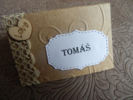 Svatební jmenovky na Váš stůl,