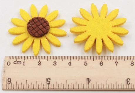 Květy slunečnice,