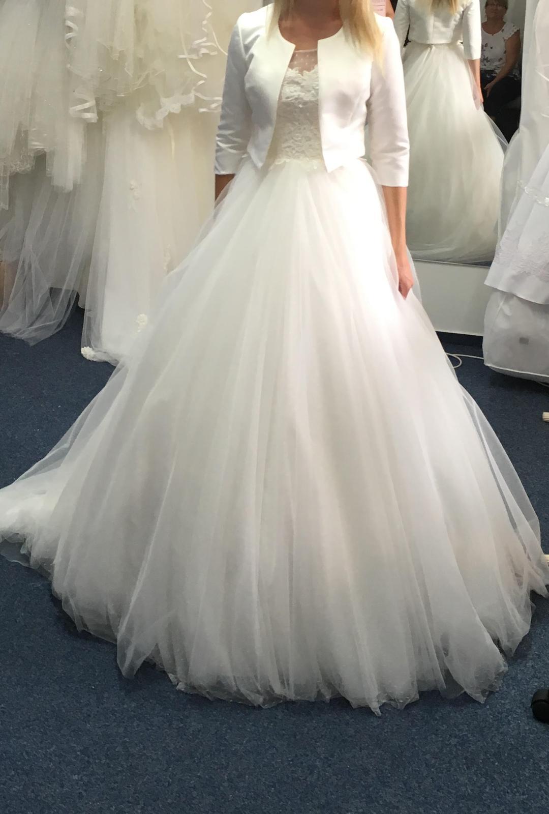 62cf7c0642a6 Svadobné šaty - predaj (závoj