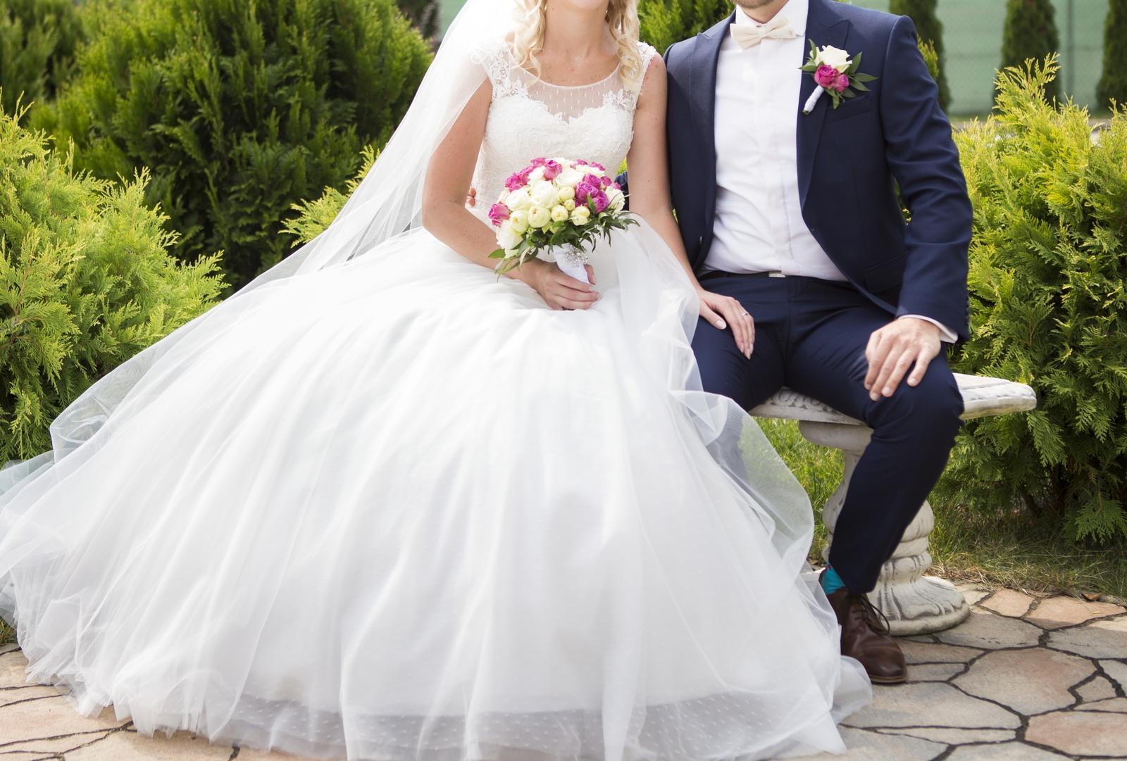 693cb87d7428 Svadobné šaty - predaj (závoj