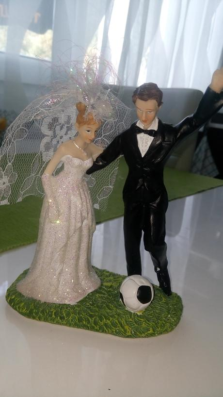figurky na dort - Fotbalista,