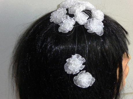 Girlanda do vlasov s posúvateľnými kvetmi,