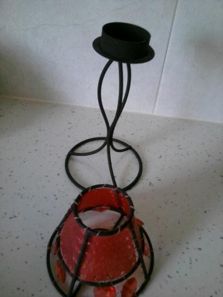 minilampa na čajovú sviečku,