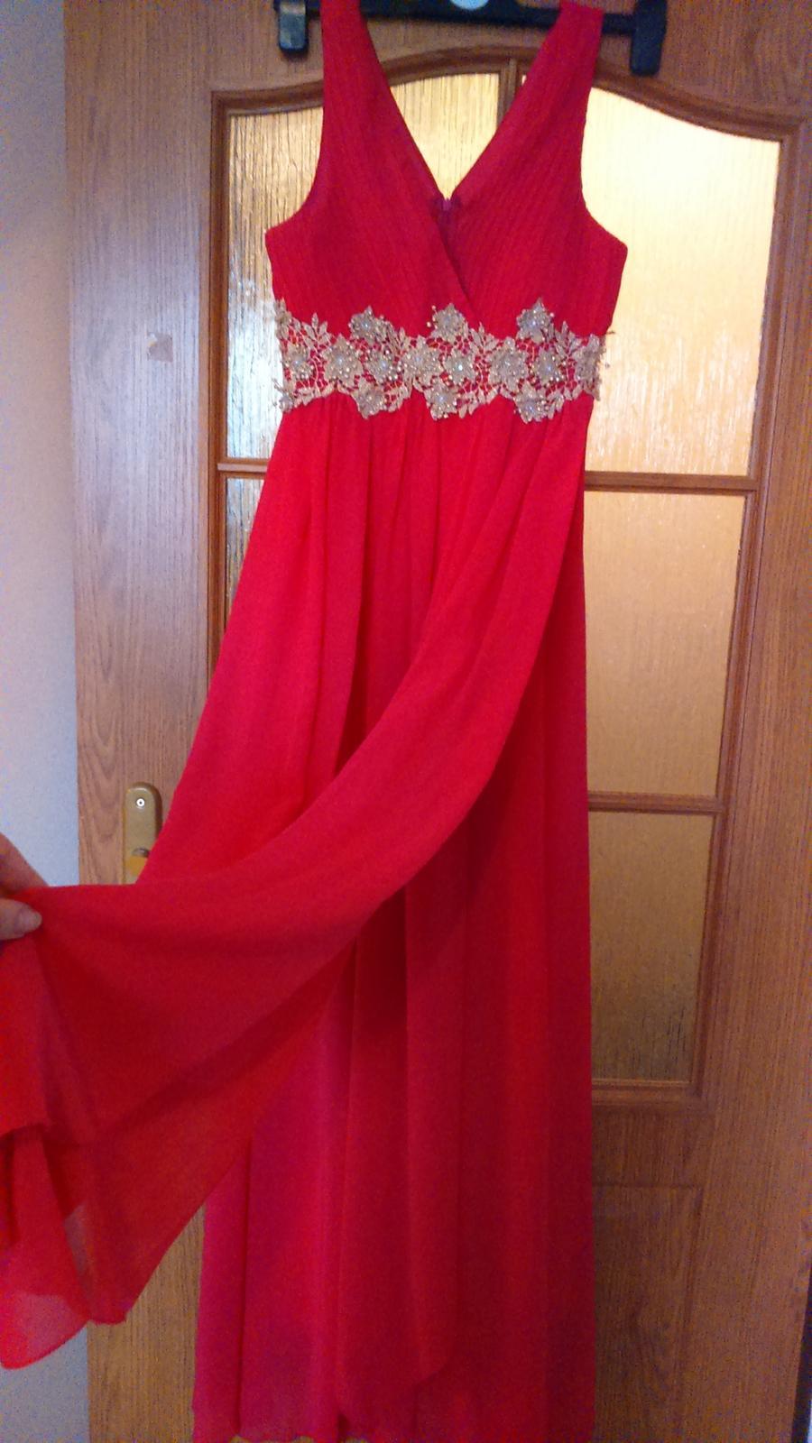 Ružové spoločenské šaty 1401711113e