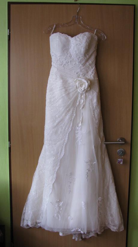 Svadobné šaty Pronovias, ivory, 36