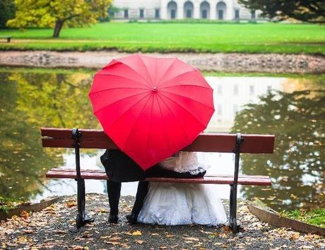 Deštník srdce - Prodej,