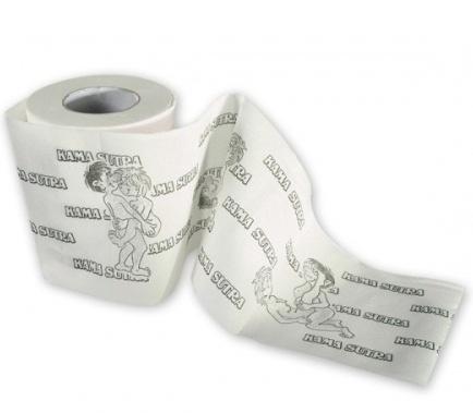 Toaletní papír -kamasutra,