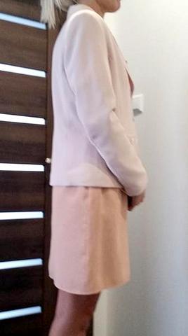 c73da4940164 Damsky suknovy kostym ruzovy