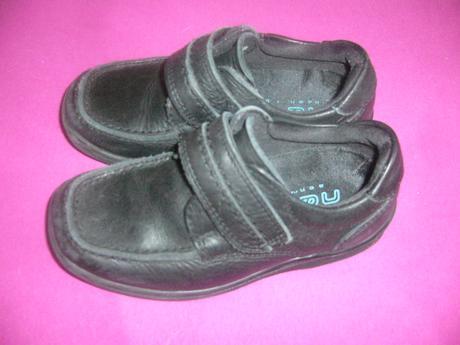 Černé kožené boty, 27