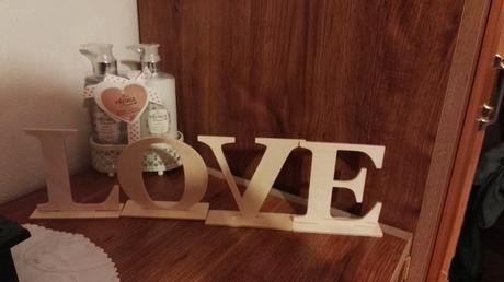 Písmená LOVE,
