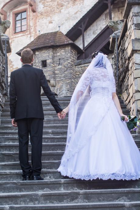 princeznovské svadobné šaty veľkosť od 36-42, 34