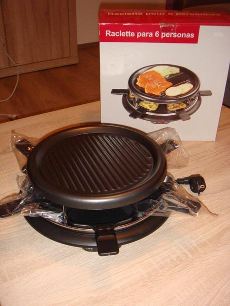 Raclette gril,