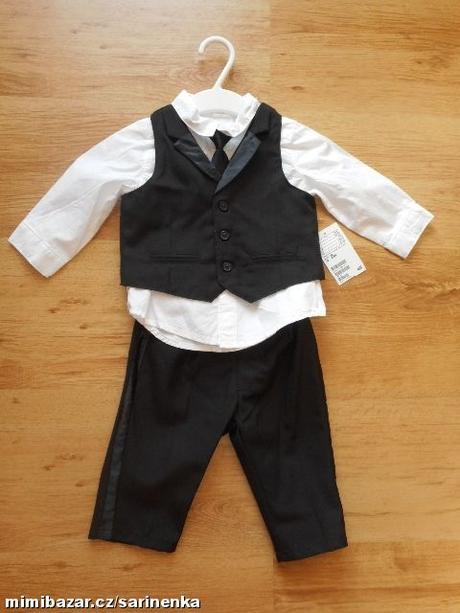 Slavnostní společenský oblek - komplet H&M 68, 68