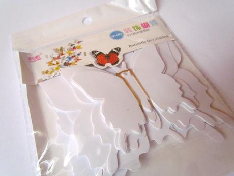 3D motýlci - 24 kusů,