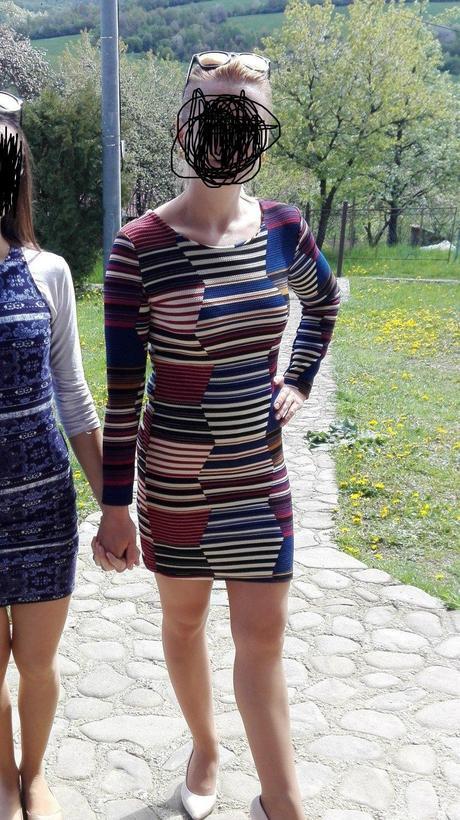 šaty s dlhým rukávom, 36