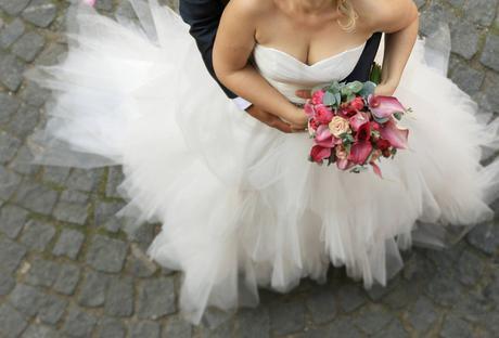 Tylové svatební šaty pro princeznu , 38