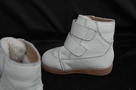 zateplené kožené boty na zip, 25